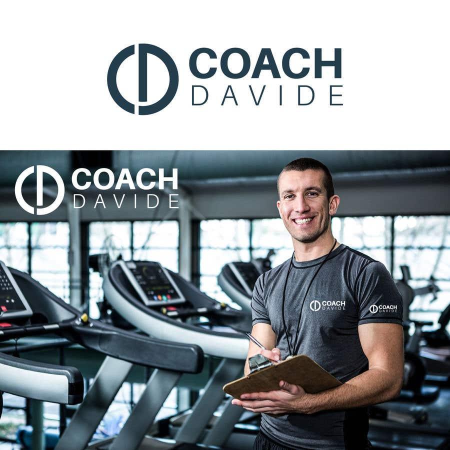 Penyertaan Peraduan #                                        184                                      untuk                                         Logo for personal trainer - Coach Davide