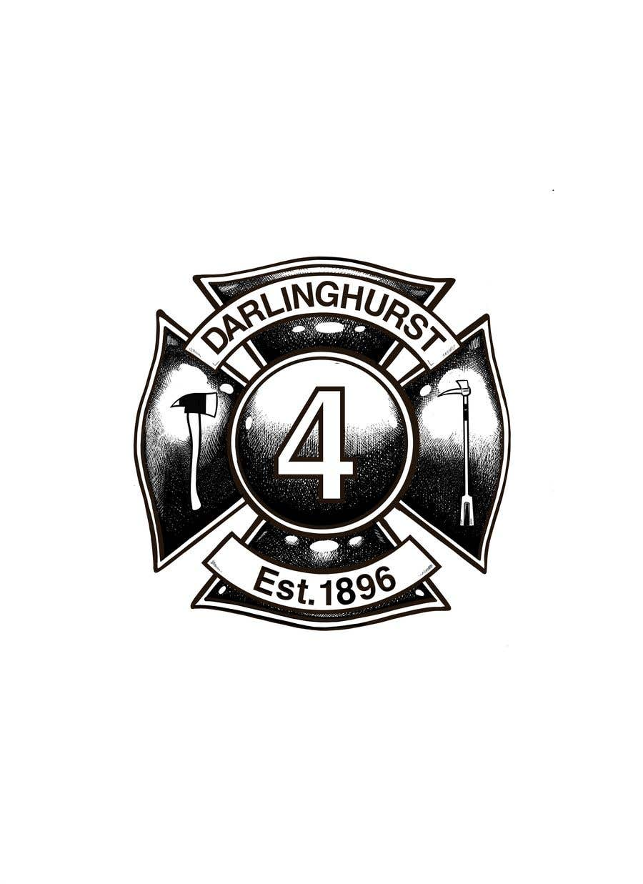 Konkurrenceindlæg #                                        32                                      for                                         Design a logo for our Fire Station Crew T-Shirt