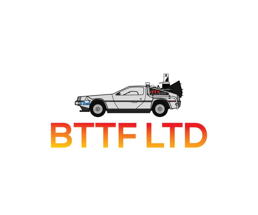 Konkurrenceindlæg #                                        157                                      for                                         Design a logo for a Back To The Future Car Hire Company called BTTF LTD