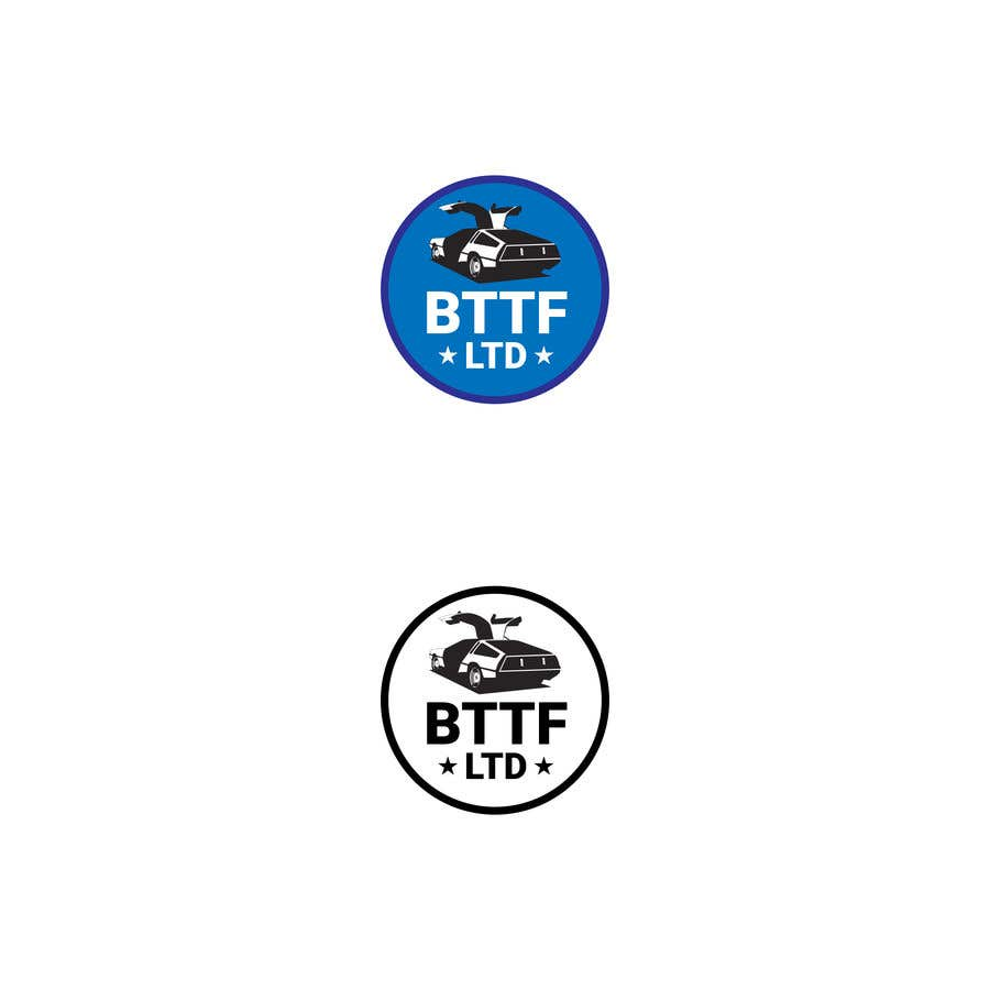 Konkurrenceindlæg #                                        138                                      for                                         Design a logo for a Back To The Future Car Hire Company called BTTF LTD