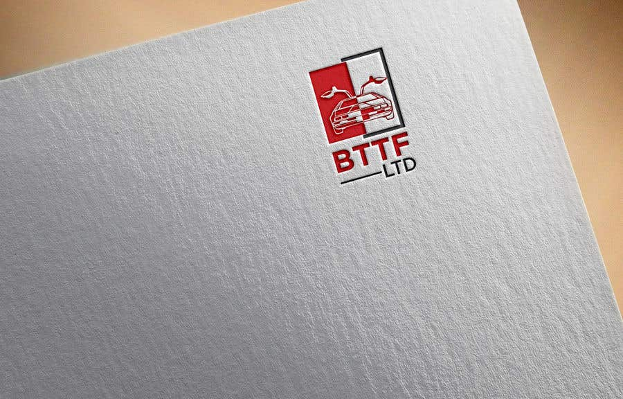 Konkurrenceindlæg #                                        83                                      for                                         Design a logo for a Back To The Future Car Hire Company called BTTF LTD