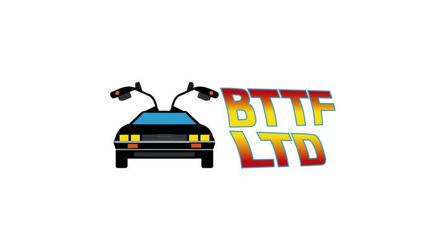 Konkurrenceindlæg #                                        147                                      for                                         Design a logo for a Back To The Future Car Hire Company called BTTF LTD