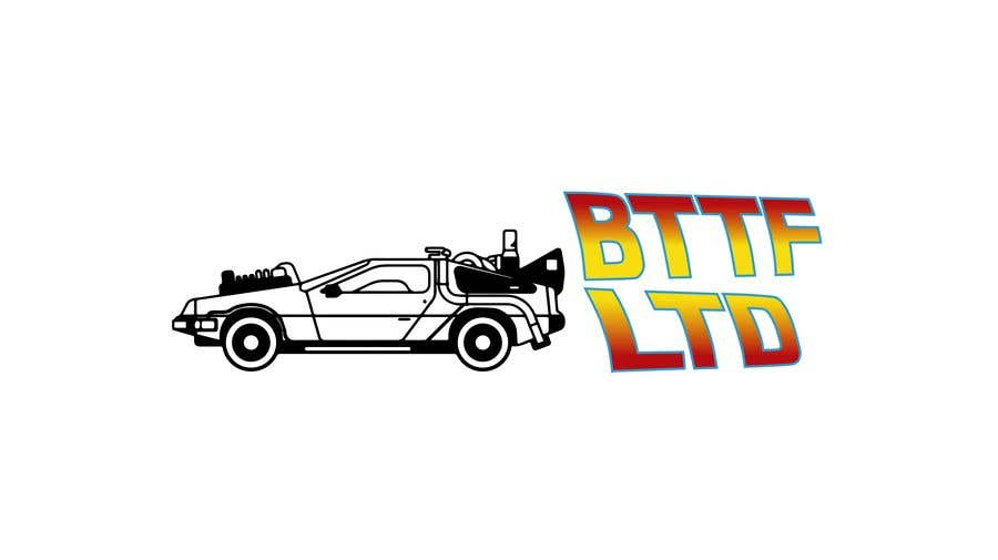 Konkurrenceindlæg #                                        148                                      for                                         Design a logo for a Back To The Future Car Hire Company called BTTF LTD