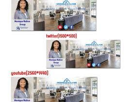 Nro 66 kilpailuun Facebook Youtube Twitter Realtor Banner käyttäjältä freelancerfoysa1