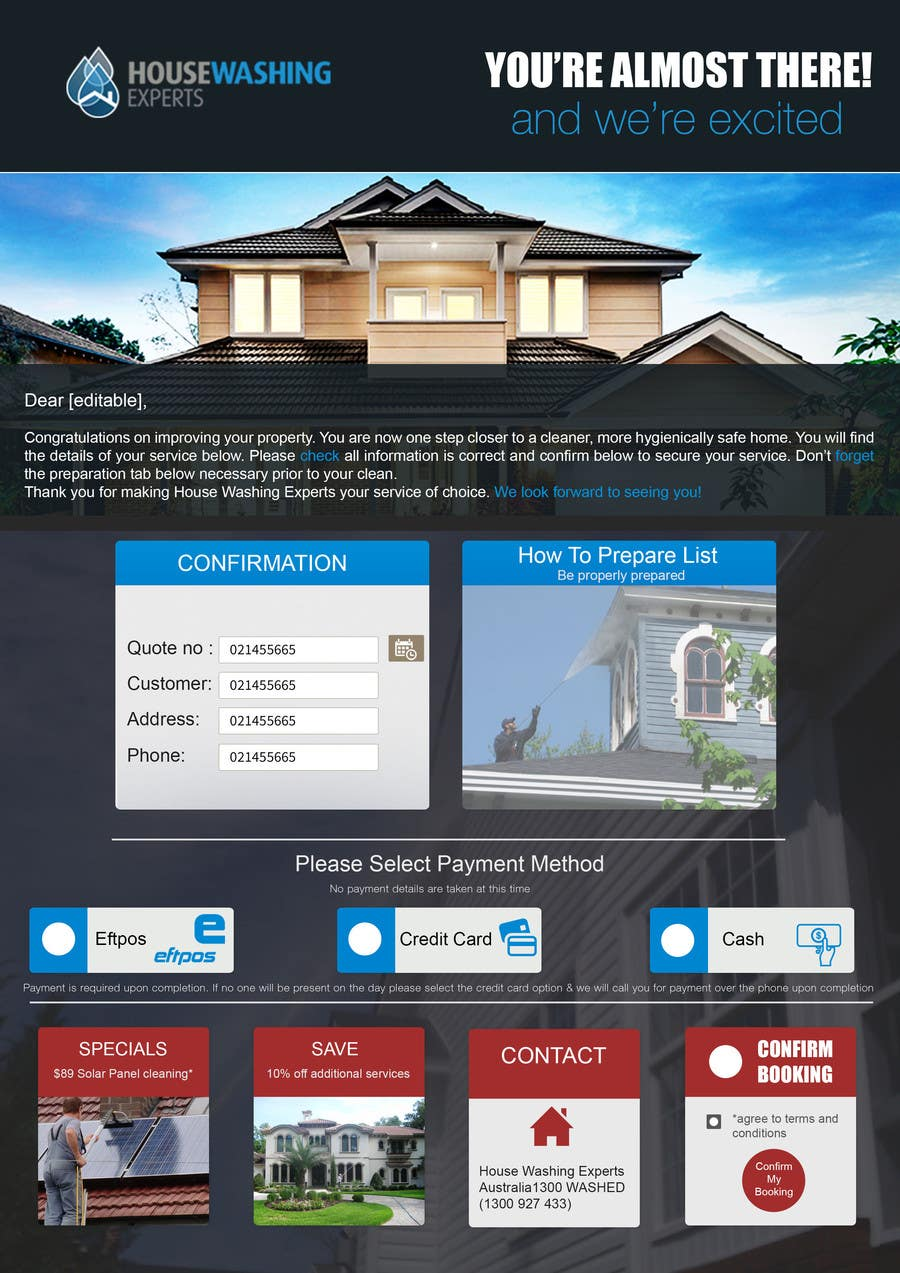 Participación en el concurso Nro.                                        17                                      para                                         E-flyer Creation - All Information provided