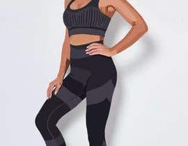 Navaneeth011 tarafından I am wanting some drawings created like the drawings I have attached below. I want the drawings to represent an activewear yoga suit. I have attached 2 photos of a black and blue activewear set that I want to be drawn like the drawings. için no 6