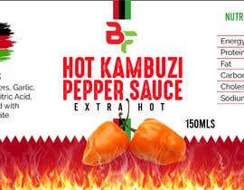 Nro 66 kilpailuun Label for a food product käyttäjältä david9644