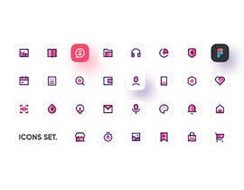#2 for Restaurant Icon set by TheOpticaldesign