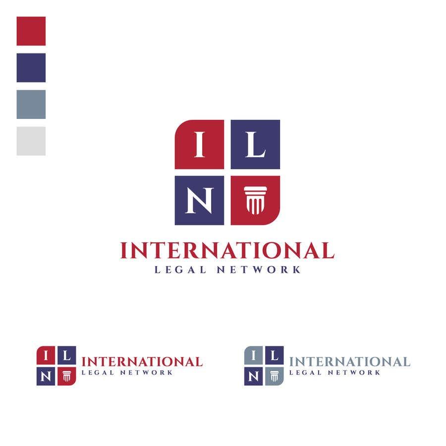 Konkurrenceindlæg #                                        487                                      for                                         Logo for international law firm