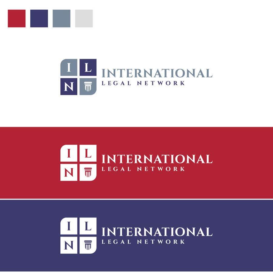 Konkurrenceindlæg #                                        488                                      for                                         Logo for international law firm