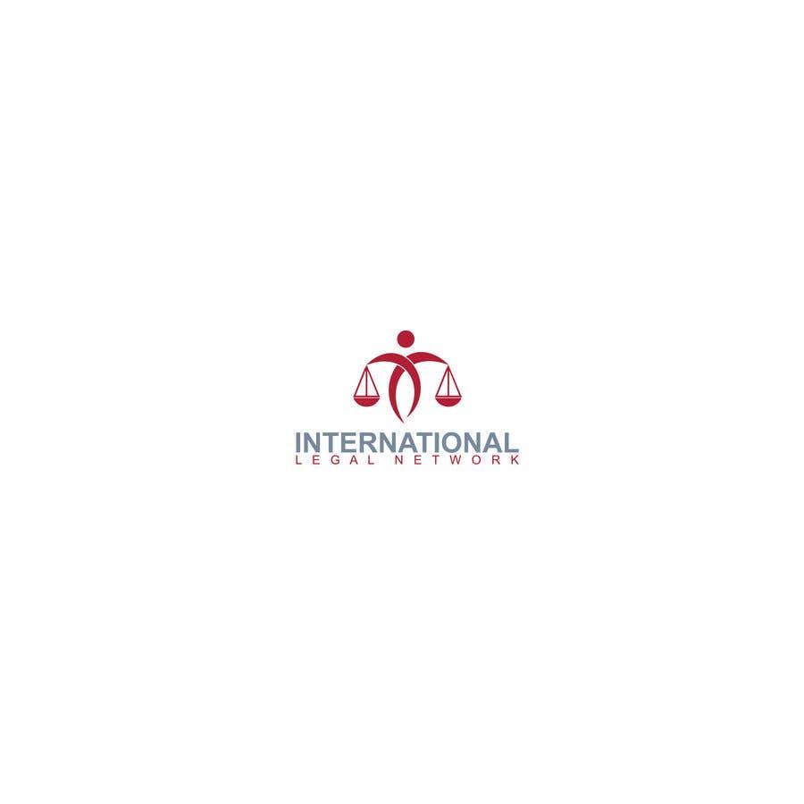 Konkurrenceindlæg #                                        303                                      for                                         Logo for international law firm