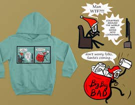#34 for Design for T-Shirt/Hoodie (funny christmas 2020 with my company's figure) af gigagido