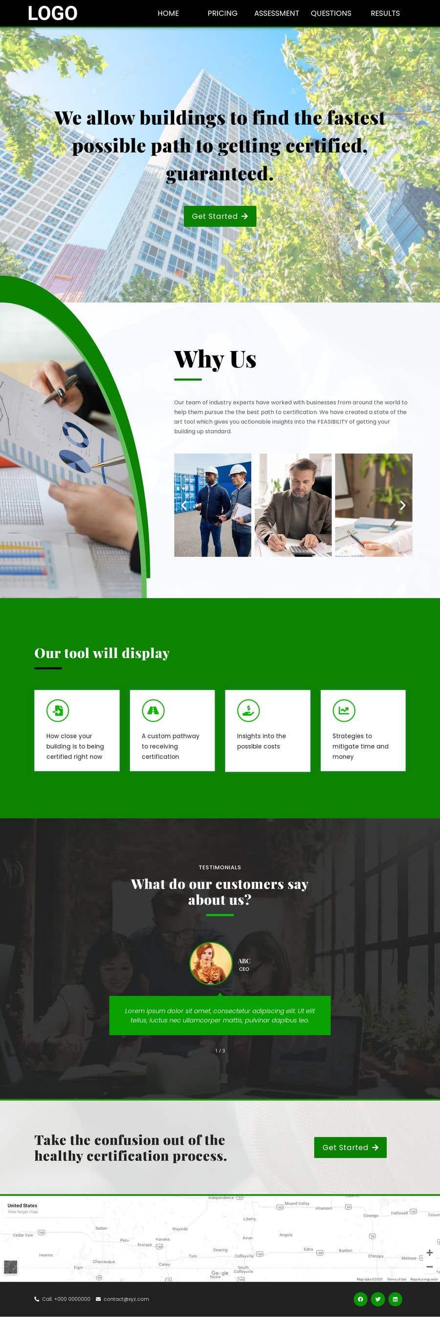 Kilpailutyö #                                        41                                      kilpailussa                                         Design a website for an assessment tool
