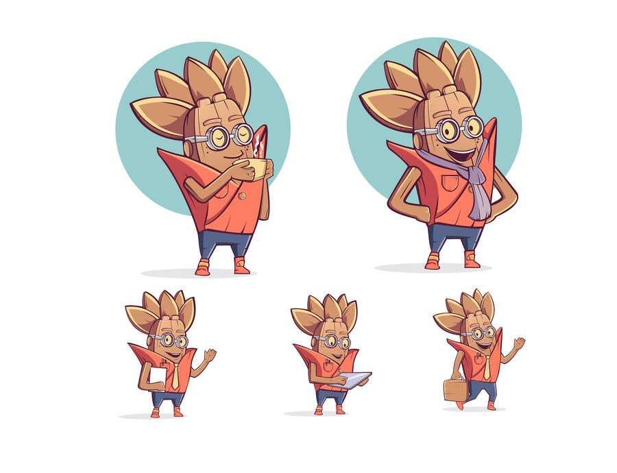 Kilpailutyö #                                        46                                      kilpailussa                                         Create an original and relatable character