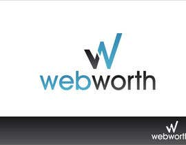 #43 para Logo Design for WebWorth de Grupof5
