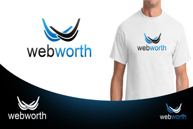 #60 for Logo Design for WebWorth by MaestroBm