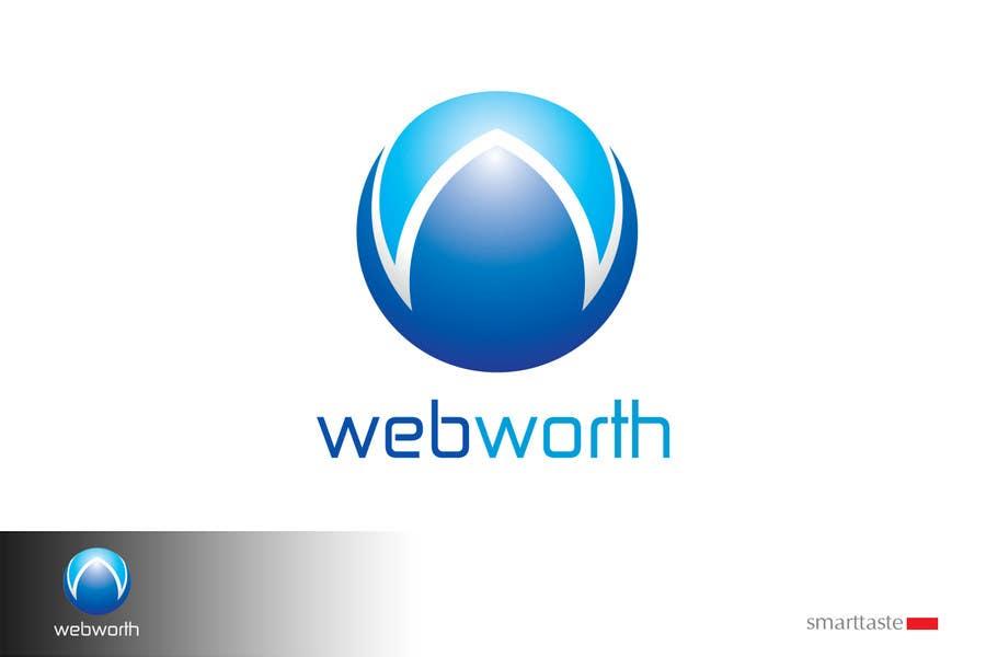 Wettbewerbs Eintrag #241 für Logo Design for WebWorth