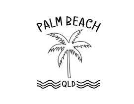 #11 for Minimalist t-shirt design - Wave and Palm Tree - Black and white - basic af rockztah89