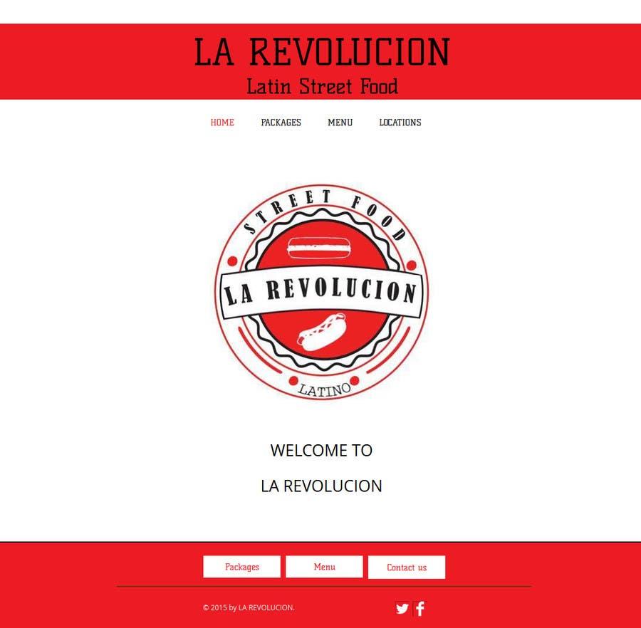 """Intrarea #10 pentru concursul """"Rewrite Website"""""""