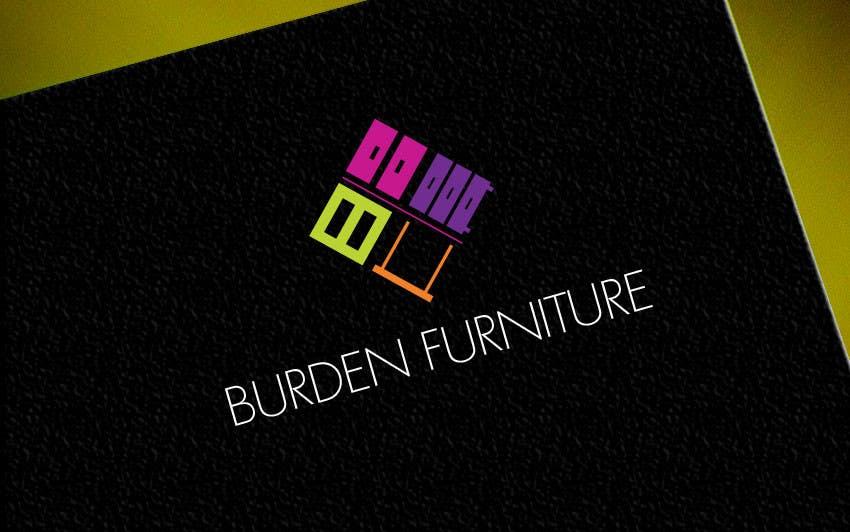 Participación en el concurso Nro.128 para Design a Logo for Burden Furniture