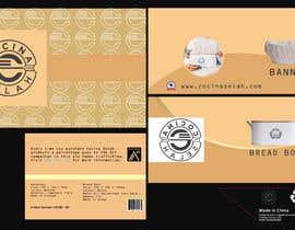 ClickZoneFelance tarafından Packaging Design for Bread Box of NEW Kitchenware Brand için no 94