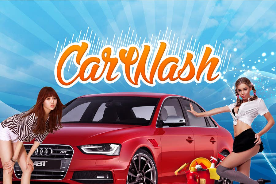 Contest Entry #18 for Design a Banner for Car Wash