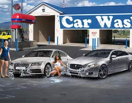 #3 para Design a Banner for Car Wash de Gtechfreelance