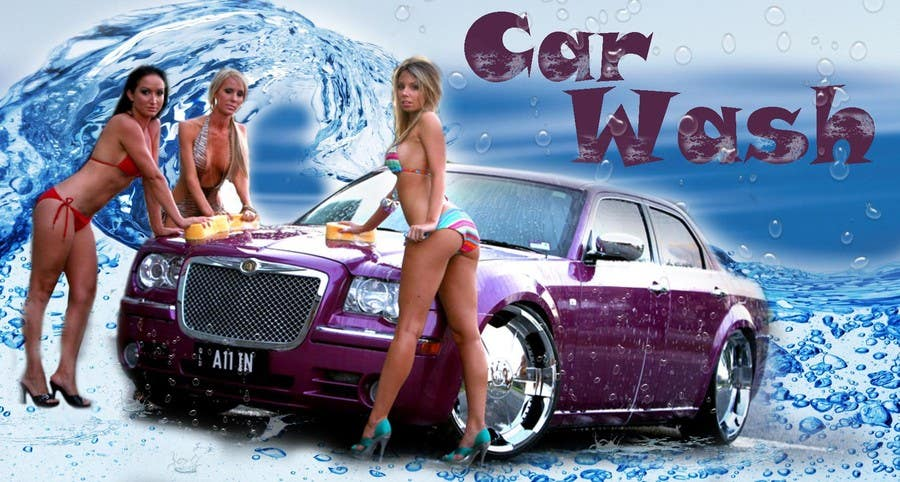 Contest Entry #4 for Design a Banner for Car Wash