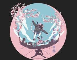 #585 for Neko Ninja Contest (Japanese Cat Ninja) by bujildei