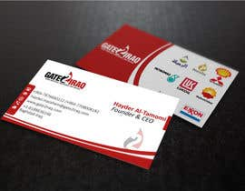#15 for Design some Business Cards for Gate2Iraq Group by GhaithAlabid