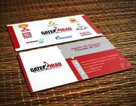 #27 para Design some Business Cards for Gate2Iraq Group por GhaithAlabid
