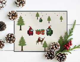 #22 for Design a Christmas and Among Us Themed Image af ussahsroy