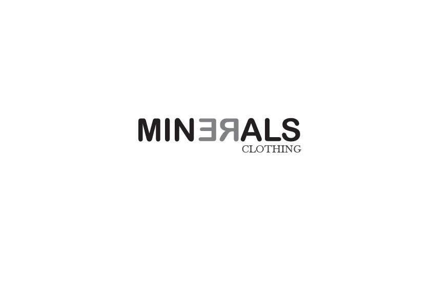 Konkurrenceindlæg #236 for Design a Logo for Minerals Clothing