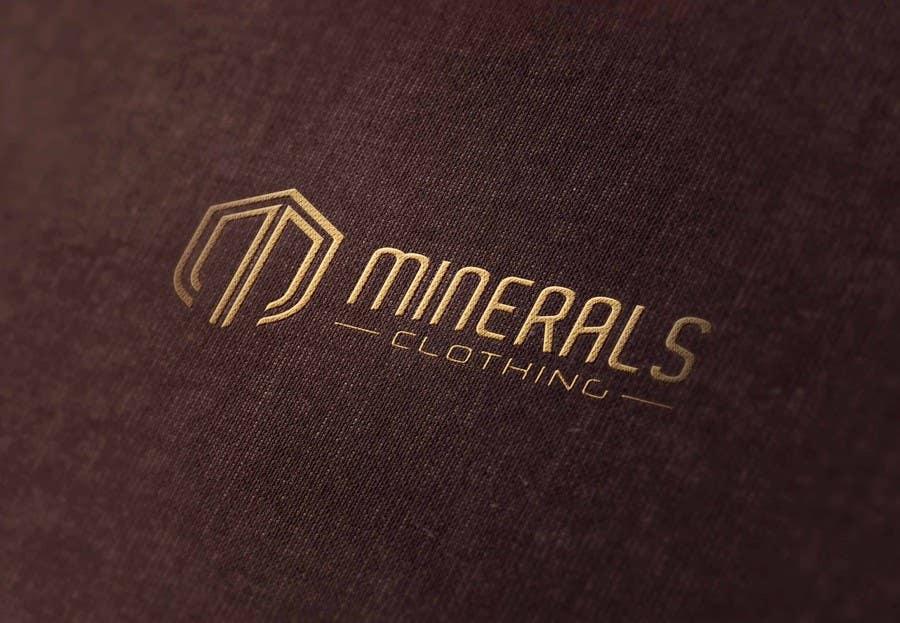 Konkurrenceindlæg #228 for Design a Logo for Minerals Clothing