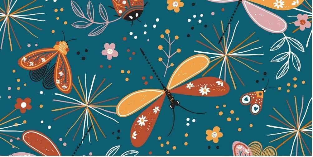 Proposition n°                                        116                                      du concours                                         Artwork design for textile pattern