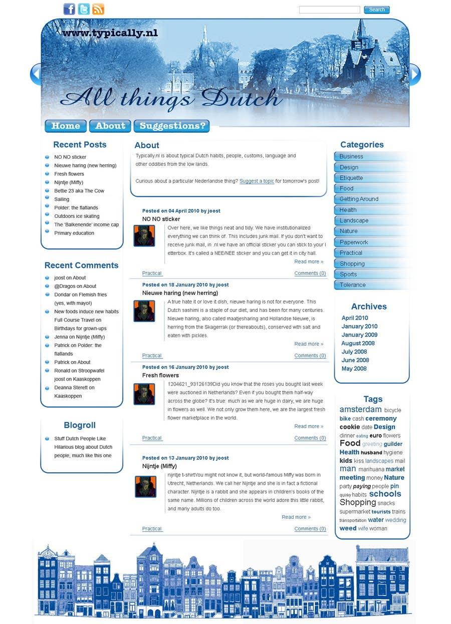 Inscrição nº                                         25                                      do Concurso para                                         Website Design for typically.nl