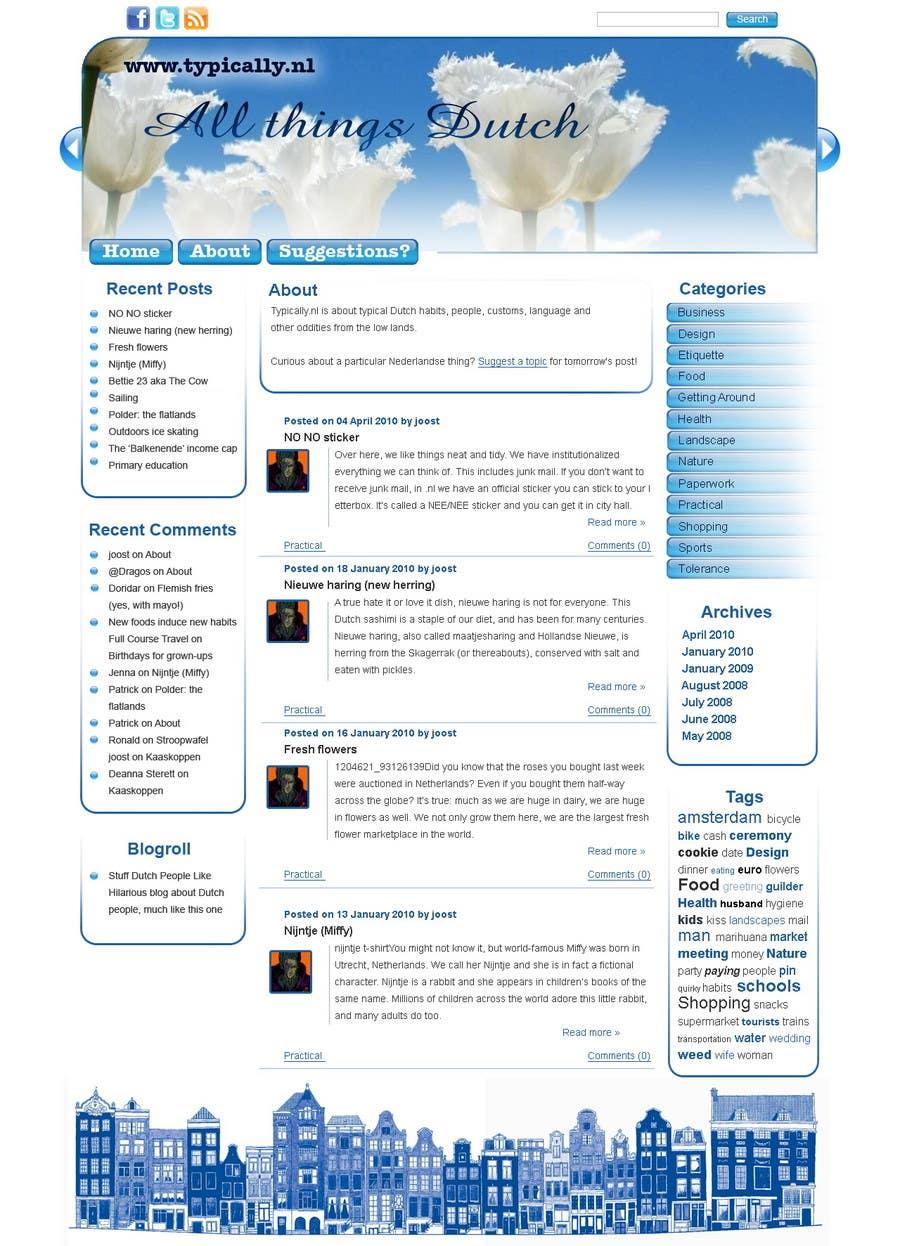 Inscrição nº                                         22                                      do Concurso para                                         Website Design for typically.nl