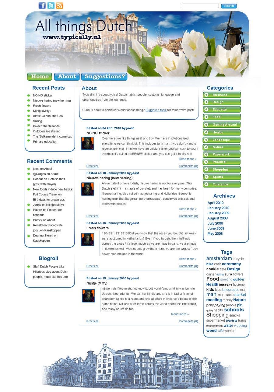 Inscrição nº                                         19                                      do Concurso para                                         Website Design for typically.nl