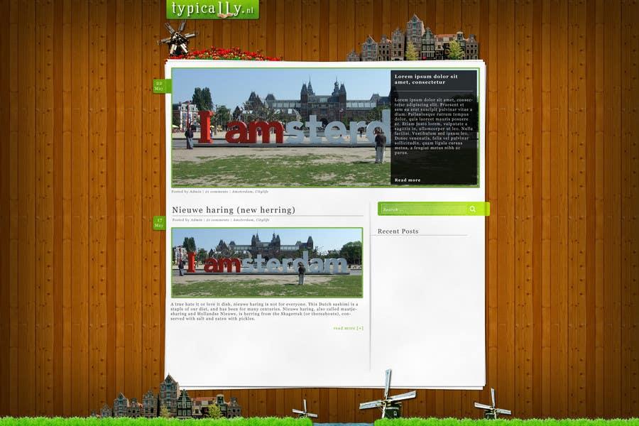 Конкурсная заявка №                                        8                                      для                                         Website Design for typically.nl