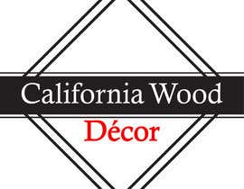 #54 za Design a Logo for California Wood Decor od scchowdhury