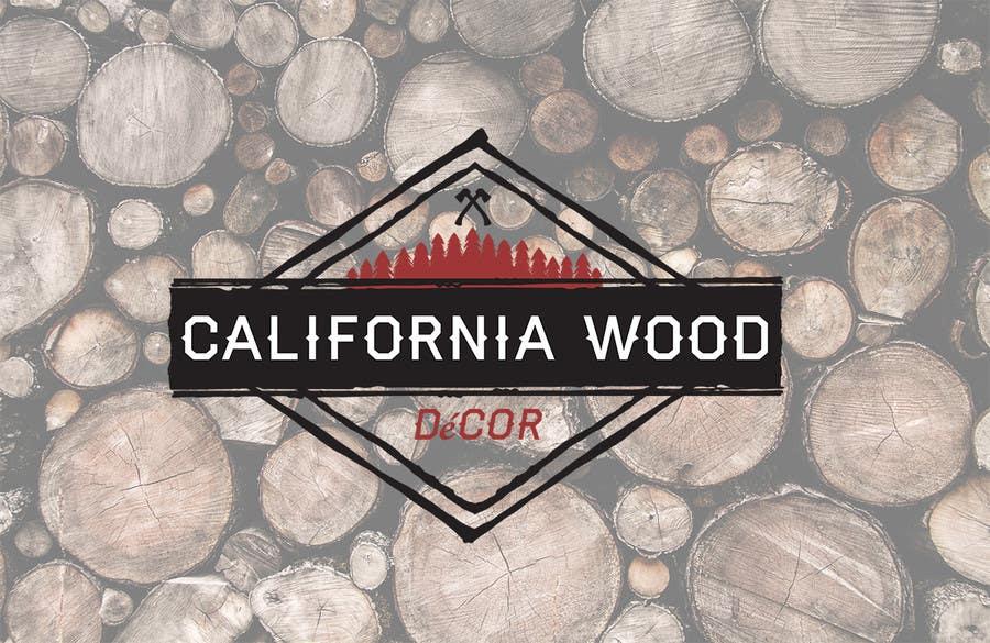 Konkurrenceindlæg #                                        20                                      for                                         Design a Logo for California Wood Decor