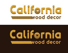 #55 za Design a Logo for California Wood Decor od sunny9mittal