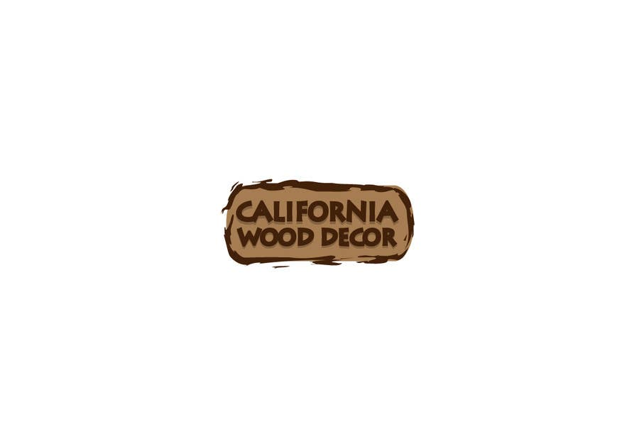 Konkurrenceindlæg #                                        14                                      for                                         Design a Logo for California Wood Decor
