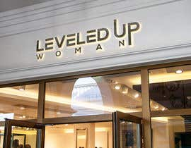 Nro 471 kilpailuun Logo design: Leveled UP! Woman käyttäjältä SafeAndQuality