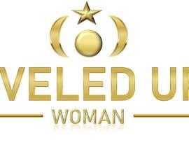 Nro 477 kilpailuun Logo design: Leveled UP! Woman käyttäjältä ChubbyCat740