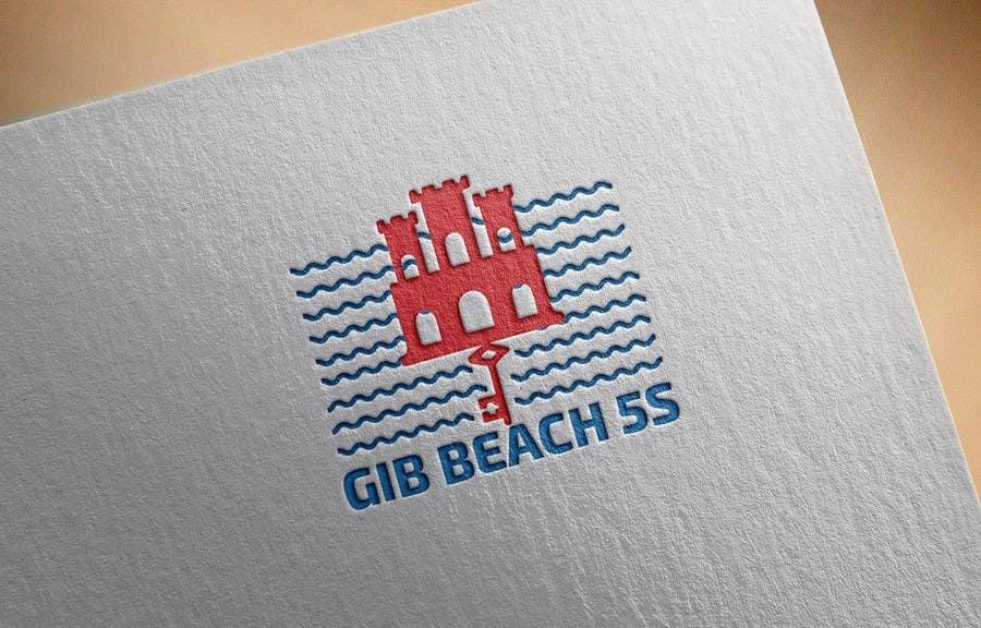 Kilpailutyö #5 kilpailussa Design a Logo for Beach Rugby - Use your imagination!