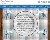 Graphic Design Konkurrenceindlæg #3 for Design for homepage Greek Traditional Tavern