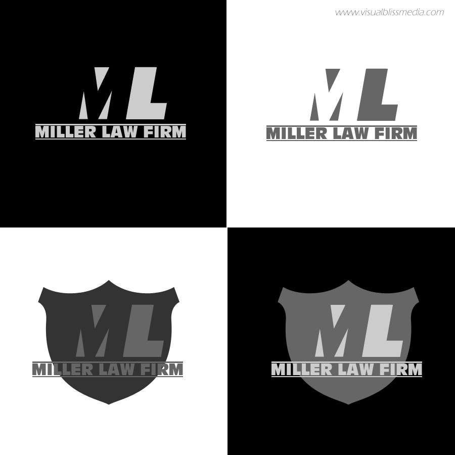 #53 for Logo Design for Miller Law Firm by visualbliss