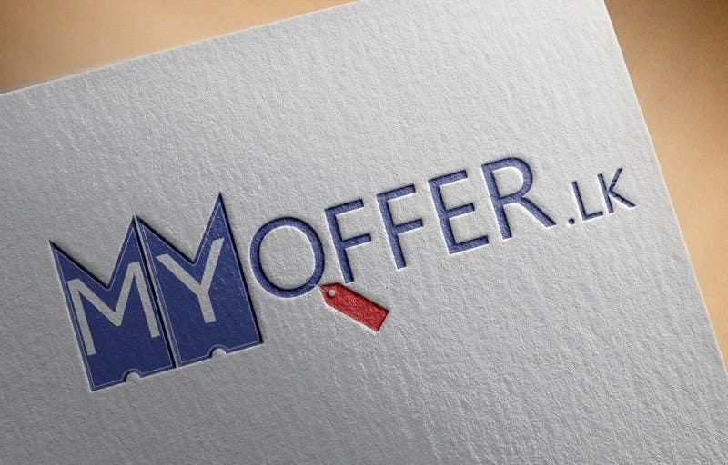 Konkurrenceindlæg #                                        17                                      for                                         Design a Logo for website :www.MYOFFER.LK