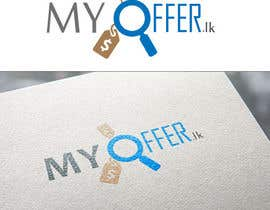 nº 23 pour Design a Logo for website :www.MYOFFER.LK par ahamedazhar